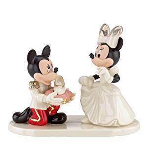 Disney Figur Lenox 819212 Mickey & Minnie Mouse Priz Charming