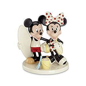 Disney Figur Lenox 830094 Mickey & Minnoe Mouse surfer