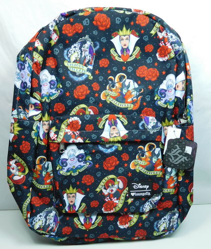 Loungefly Disney Rucksack Backpack Villains Ursula Böse Königin Cruella Maleficent