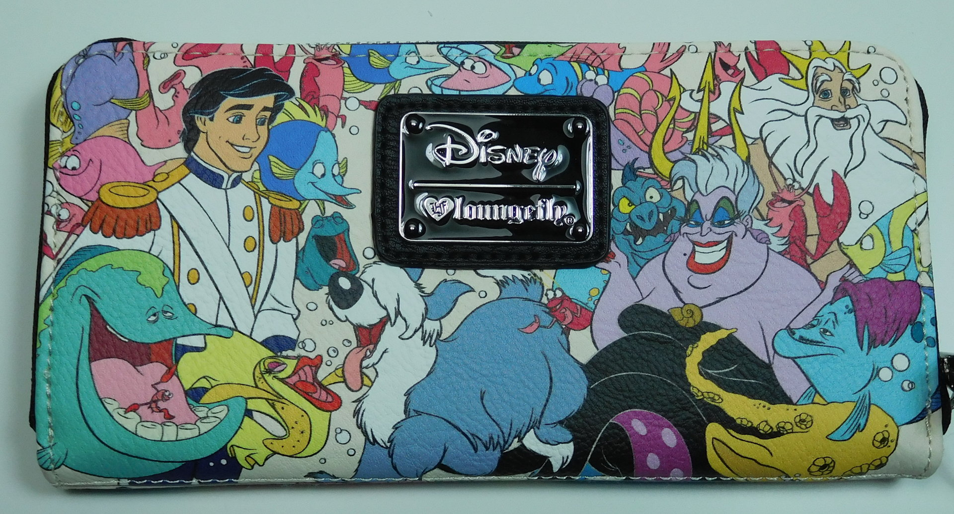 Loungefly Disney Portemonnaie Geldbörse Arielle Die Meerjungfrau Ursula Eric