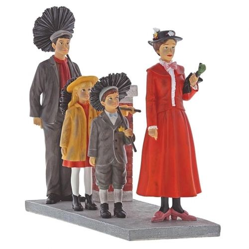 Disney Enesco Enchanting Mary Poppins Step in Time Szene