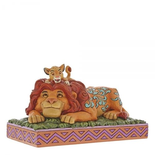 disney Enesco Traditions Jim Shore A Father`s Pride Simba und Mufasa