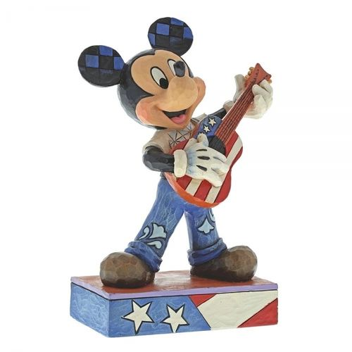 disney Enesco Traditions Jim Shore Mickey mouse Rock and Roll