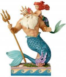 Disney Enesco Traditions Jim Shore Arielle die Meesjungrau mit Triton