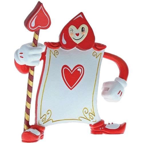 Disney Enesco Miss Mindy Alice im Wunderland Karten Soldat rot Ace of Hearts