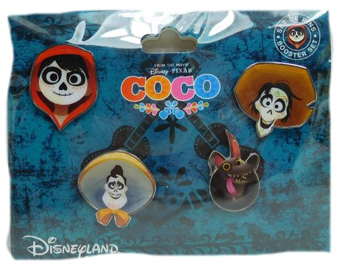 Disney Pin Pins DLRP 2017 Trade Set Coco 4 pieces Pixar