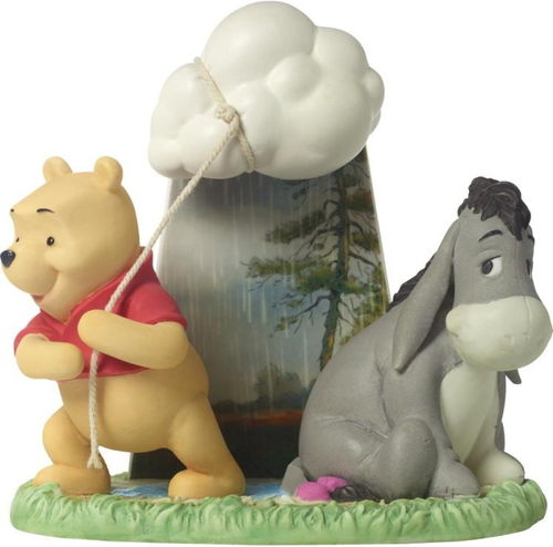 Precious Moments, Disney Showcase Winnie Pooh der Bär mit Eeyore