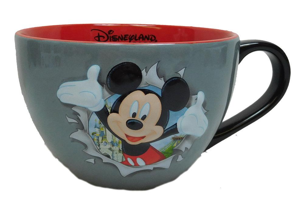 Mouse Mickey Kaffee Capuccintasse Erhaben Becher Tasse Pott Disney Disneyland Kaffeetasse Mug Paris rBdoCxe