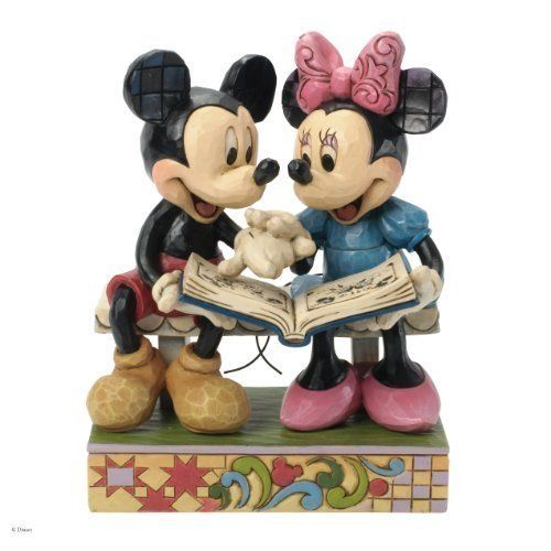 Disney Enesco Traditions Jim Shore 4037500 Mickey und Minnie 85 Jahre Edition