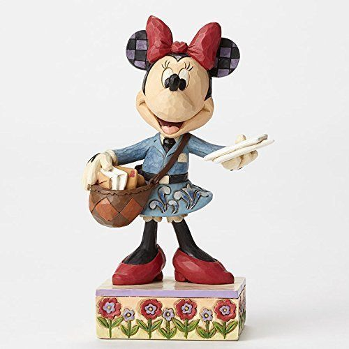 Disney Enesco Traditions Jim Shore Minnie Mouse als Postbote