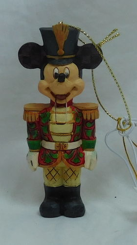 Disney Enesco Figur Nussknacker a29381 Mickey Mouse Hanging Ornament Weihnachtsbaumschmuck