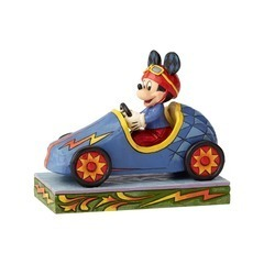 Disney Enesco Figur Jim Shore Traditions Rennfahrer 6000974 Mickey Mouse