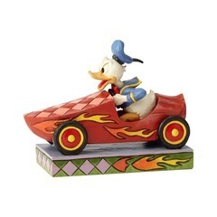 Disney Enesco Figur Jim Shore Traditions Rennfahrer 6000975 Donald Duck