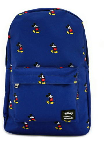 Loungefly Disney Rucksack Backpack Mickey Mouse blau