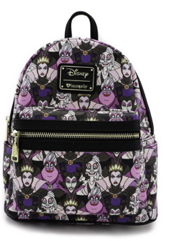 Loungefly Disney Rucksack Backpack Daypack Villains Ursula Böse Königin Maleficent