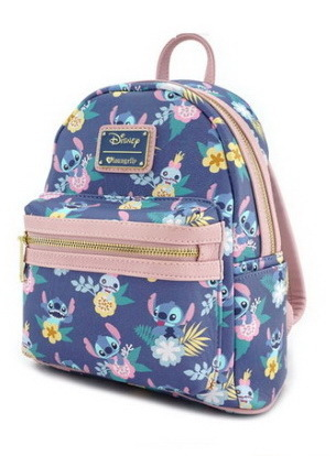 Loungefly Disney Rucksack Backpack Daypack Stitch floral