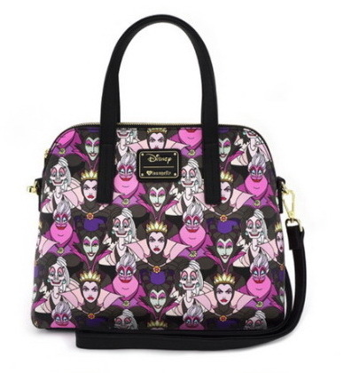 Loungefly Disney Tasche : Villains Ursula Böse Königin Maleficent
