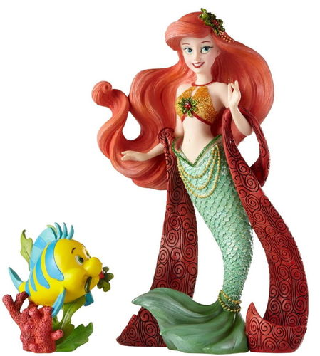 Enesco Disney Figur Showcase : Arielle und Sebastian Holiday