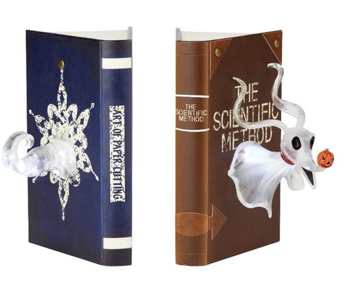 Enesco Disney Figur Showcase Nightmare before Christmas : Buchstütze Zero