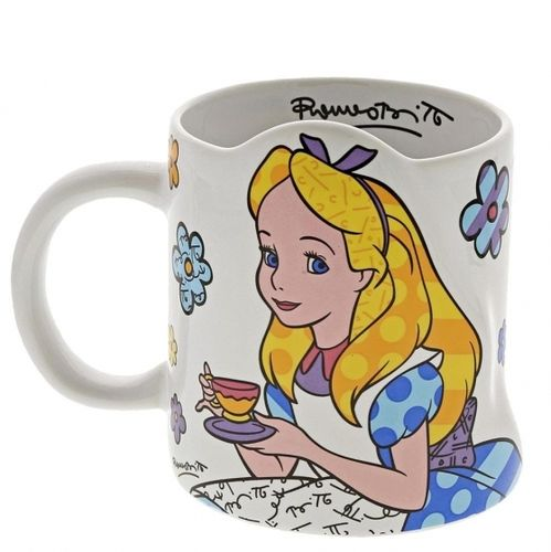 Enesco Disney Figur Britto : Becher Alice im wunderland
