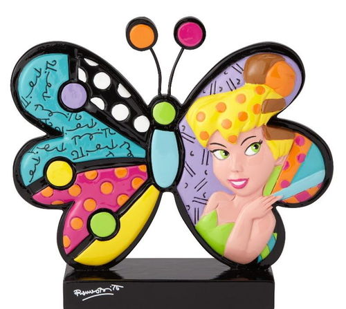 Enesco Disney Figur Britto : Schmetterling Icon Tinker Bell