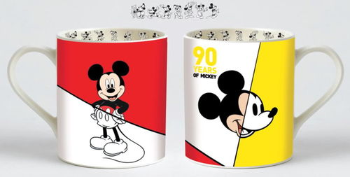 Enesco Disney Figur Enchanting : 90 Jahre Mickey Mouse MUG Becher