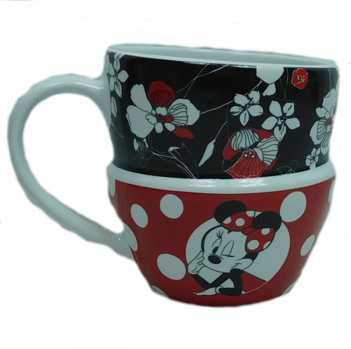 Disney Disneyland Paris Porzellan : Minnie rocks the Dots : Stapeltasse