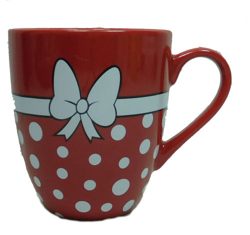 Disney Disneyland Paris Porzellan : Minnie rocks the Dots : Tasse MUG