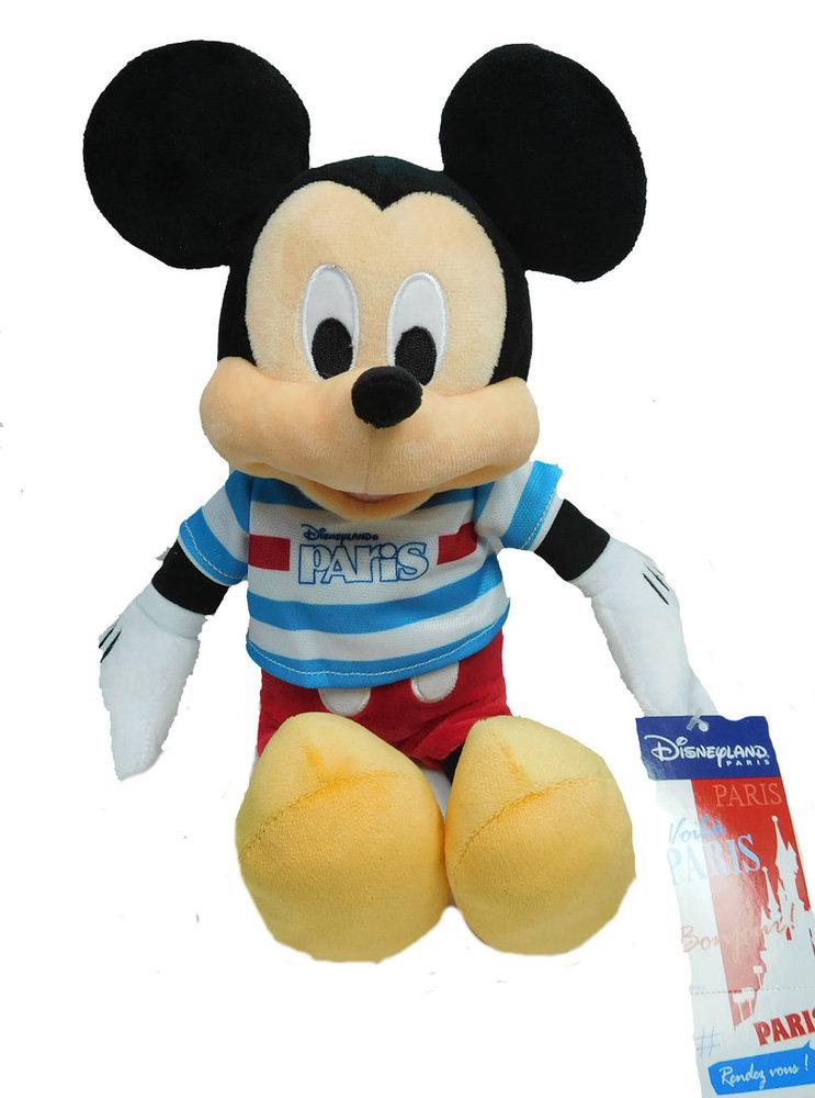 Stofftier Stoff Puppe Plüschtier Disney Disneyland Paris Mickey Mouse Rendez vous!