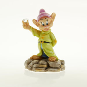 Disney Figur English Ladies Zwerg Diamond Mine Seppl mit Swarowski Kristall