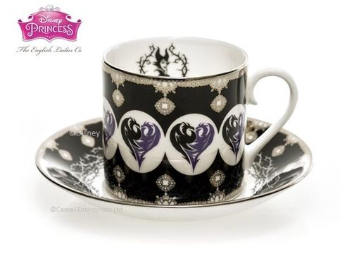 Disney Tasse mit unterasse English Ladies Maleficent