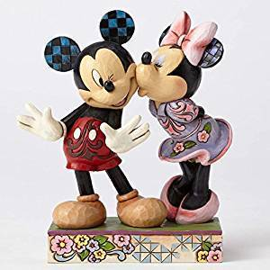 Disney Enesco Figur Jim Shire TRaditions : 4053366 Mickey und Minnie Mouse in Love