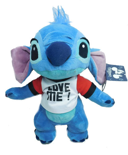 Disney disneyland Paris Plüschtier Stofftier Stitch Love me