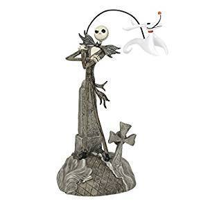 Disney Department 56 Figur: Jack Skellington Nightmare before Christmas mit Zero 6000412