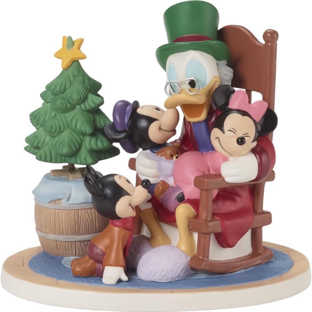 Disney Precious Moments 181701 Mickey`s Weihnachts Szene - Ein ...