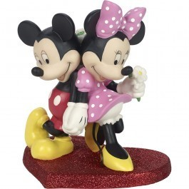 Disney Precious Moments 181702 Mickey & Minnie in Love