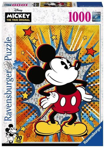 Disney Puzzle Ravensburger 15391 1000 Teile 90 Jahre Mickey Mouse