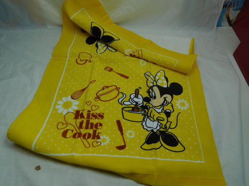 Handtuch Towels Geschirrtuch : Minnie Mouse Kiss the Cook
