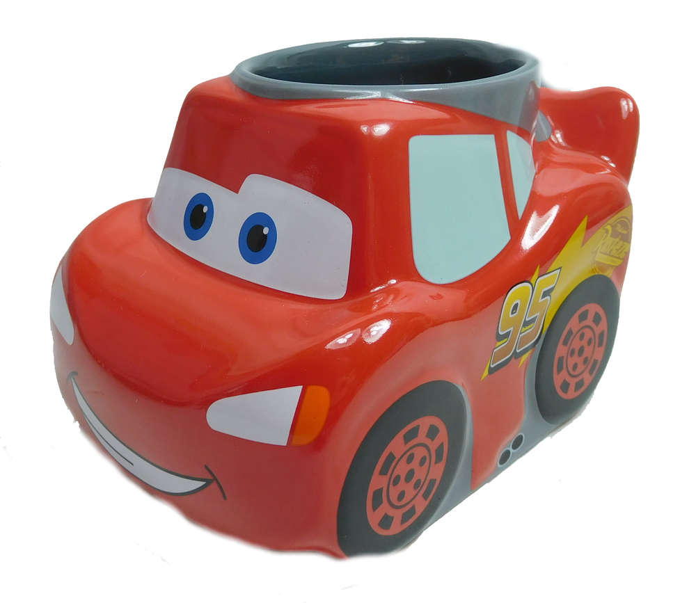 Disney Disneyland Paris Mug Tasse Becher Cars Lightning Mcqueen