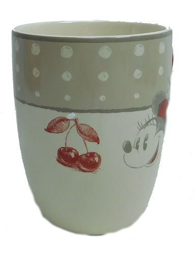 Minnie Mouse Disney Disneyland Paris Teetasse Kaffeetasse Kirschen Tasse Becher …