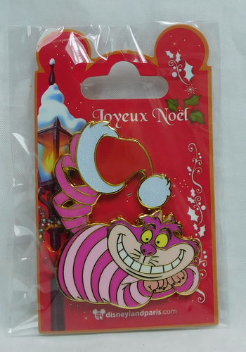 Pin Trade 2018 Weihanchten Disneyland Paris : Grinsekatze / Cheshire Cat
