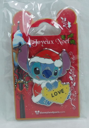 Pin Trade 2018 Weihanchten Disneyland Paris : Stitch