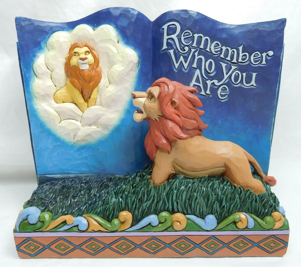 Disney Traditions Jim Shore Figur Story Book König Der Löwen Simba
