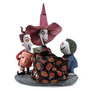 Disney Enesco Departmen56 Nightmare before Christmas 6000809 Lock, Shock & Barrel