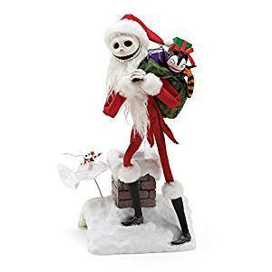 Disney Enesco Departmen56 Nightmare before Christmas 6000809 Jack & Zero