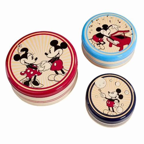 Disney Funko 3 Metalldosen 90 Jahre Mickey Mouse