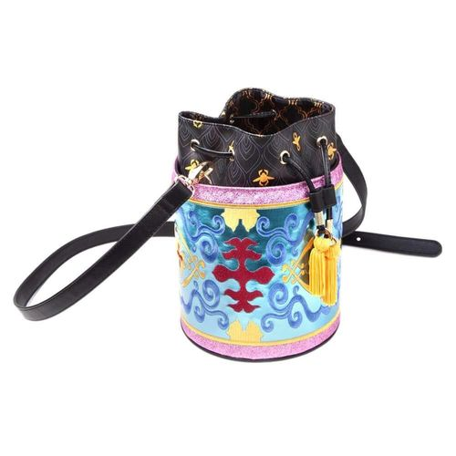 Disney DIFUZED Aladdin Magic Carped Glitter Drawstring Bucket Bag