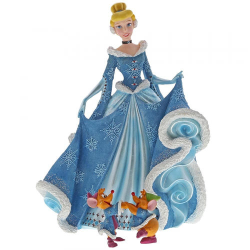 Disney enesco Showcase Holiday Cinderella mt Jaq und Gus