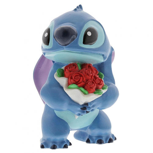 Disney Enesco Showcase Hugs - Stitch mit Blume