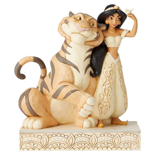 Disney Enesco Traditions Jim Shore Figur Jasmin Raja White Woodland Aladdin